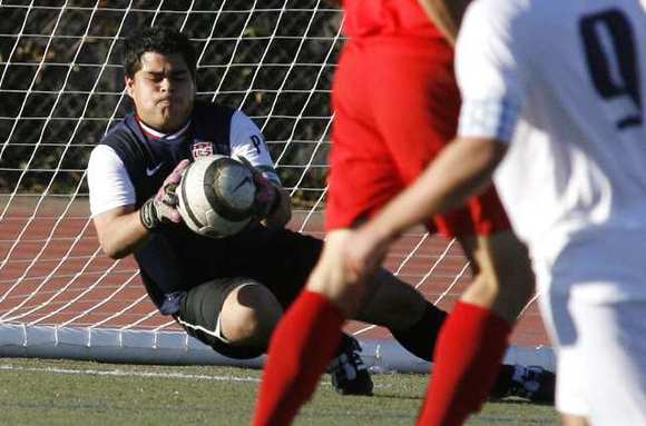 Pasadena goalie Jimmy Castillo finished with a goal and five saves, including one in the 73rd minute to secure the point for the Bulldogs.
