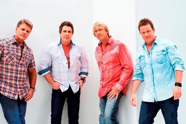Original Lonestar lead vocalist Richie McDonald is back with the group. From left are McDonald, Michael Britt, Keech Rainwater and Dean Sams. Courtesy photo