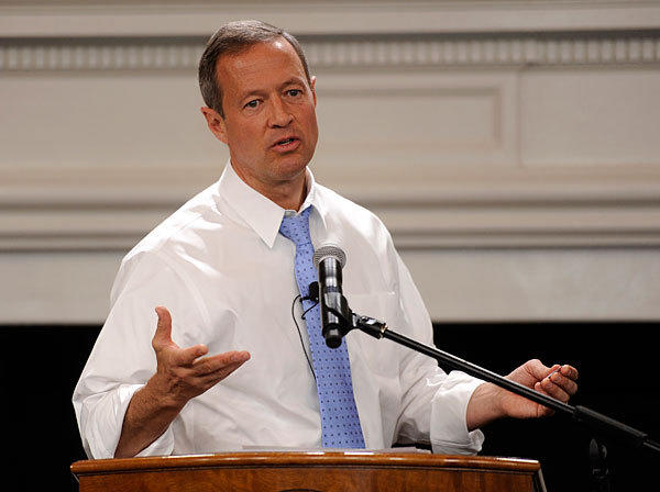 Governor Martin O'Malley presents his budget for the 2014 fiscal year.