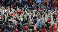 Here is a sampling of the bashing Maryland fans got on Twitter after storming the court Wednesday night when Alex Len's follow of a Pe'Shon Howard airball gave the Terps a 51-50 win over No. 14 North Carolina State.