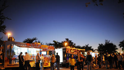 Food trucks Tuesday at Seminole Coconut Creek