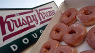 The day after Dunkin' Donuts sent Angelenos salivating with news of its imminent return to Southern California, rival chain Krispy Kreme Doughnuts Inc. said it's growing as well.