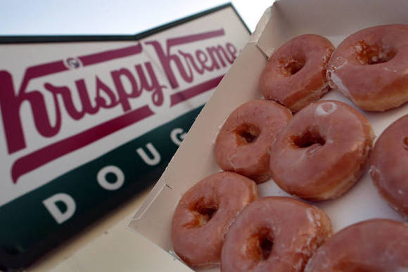 Krispy Kreme said it has major expansion plans worldwide.