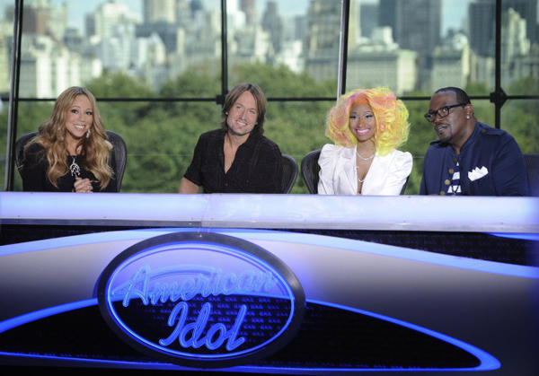 Season 12's 'Idol' panel in New York