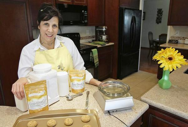 Caron Ory, who developed a sugar alternative called Eco-BeeCo, will teach a class at Orange Coast College about how to develop and sell cottage-industry food products.