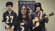Ravens fans offer pre-Patriots take on 'Call Me Maybe'