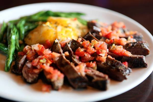 Argentine flank steak from 3 Sisters Speakeasy in downtown Kissimmee.