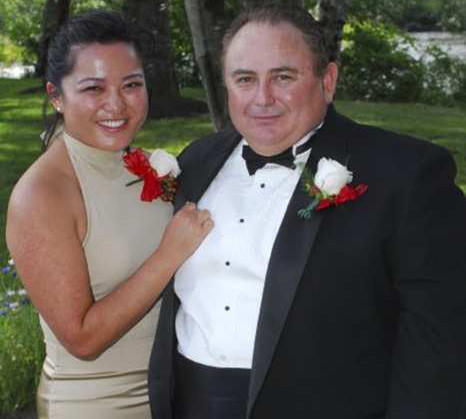Robert Rizzo and wife