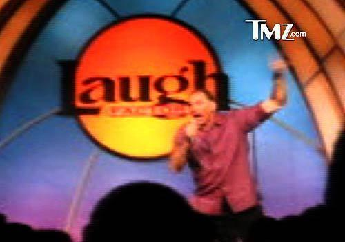 "During a stand-up set at the Laugh Factory in Hollywood, comedian Michael Richards responded to a couple of hecklers with a barrage of racial slurs. When video of the outburst went viral, Richards made a satellite appearance on ""Late Show"" during his friend (and former ""Seinfeld"" co-star) Jerry Seinfeld's guest spot. Richards began to apologize -- ""To flip out and say this crap, I'm deeply, deeply sorry"" -- but some of the audience was not aware of what had happened and started giggling, assuming the heartfelt apology was another crazy stunt from the kooky comedian. Seinfeld admonished the audience, ""It's not funny."""