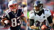 Patriots WRs Wes Welker and Brandon Lloyd vs. Ravens CBs Cary Williams and Corey Graham