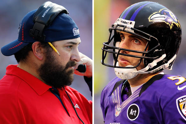 Patricia will try to confuse Flacco with his coverages underneath, and Flacco struggles when teams play a lot of double coverage underneath. The Patriots will also try to attack the Ravens at the line of scrimmage, but it will be interesting to see if they are physical on the outside or inside receivers. <br>