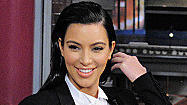 Letterman grills Kim Kardashian on Kanye and Kris Humphries
