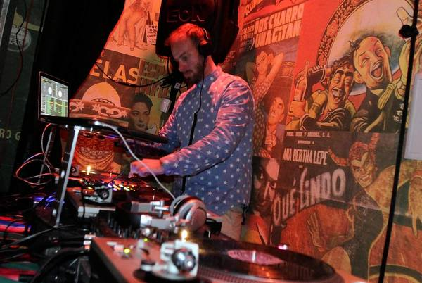 DJ-performer El G at Eastside Luv club in Boyle Heights on Jan. 16, 2013.