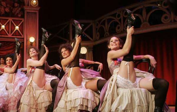 """A scene from the 2007 revival of Cole Porter's """"Can-Can"""" at the Pasadena Playhouse."""