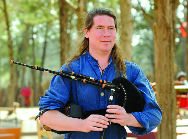 A bagpipe concert with E.J. Jones, shown here, Ivan Goff, Ian Lawther and Matt and Shannon Heaton, featuring music of different types of bagpipes from different countries takes place at 8 p.m. Saturday, Jan. 19, at Shepherd Universitys Reynolds Hall, King Street, Shepherdstown, W.Va.