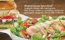 Boston Market salad.