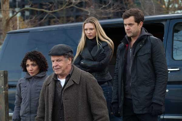 The science fiction series Fringe comes to an end after a five-year run with a two-hour finale at 8 p.m. on Fox. With Jasika Nicole, left, John Nobe, Anna Torv and Josh Jackson.
