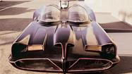The original Batmobile under construction