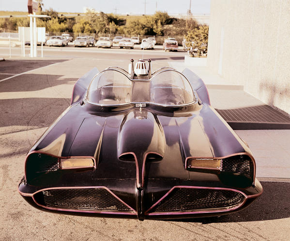 The iconic Batmobile from the 1960s television show is set for the auction block this weekend. The midnight-black and fluorescent-red-pinstriped car that Adam West's Batman used to battle villains in Gotham will be up for grabs Saturday at a Barrett-Jackson auction in Scottsdale, Ariz.