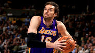 After missing the previous five games because of a concussion, Pau Gasol is set to play for the Lakers as they face the Miami Heat on Thursday night at Staples Center.