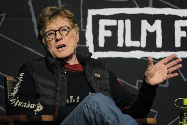 Robert Redford discusses the Sundance Film Festival 2013 on opening day.