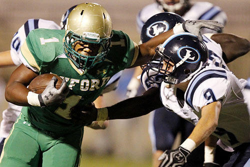 Dontravious Wilson, Buford, Ga., running back, photo
