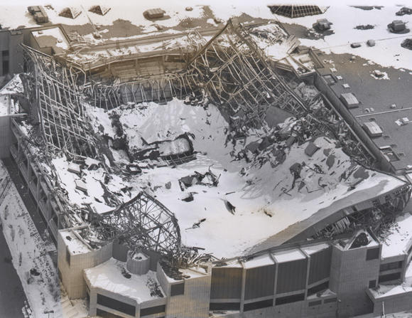 Civic Center Roof Collapse