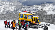 California: Sierra snowcat trips for skiers, boarders