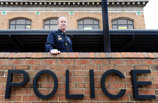 Hagerstown Police Department's Acting Chief Mark Holtzman will be sworn in next Tuesday as the new police chief.
