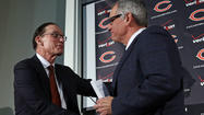 Bears general manager Phil Emery and new head coach Marc Trestman celebrate birthdays just a day apart from one another. That's one of the nifty — dare we say synergetic? — connections between the two men. Sadly, they weren't born in late May or the first few weeks of June. That would have made them Geminis, of course, sign of the twins. No, they're a couple old Capricorns, which means they're depicted as goats with fish tails, not the greatest image for football.
