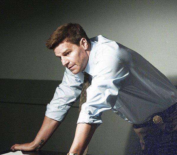 "David Boreanaz in ""Officer Down."""