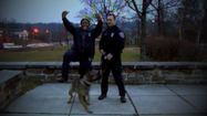 VIDEO Baltimore police 'Go Ravens!'