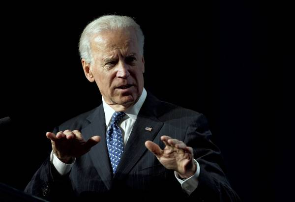 "Vice President Joe Biden, speaking to the U.S. Conference of Mayors on gun policy, said: ""We're going to take this fight to the halls of Congress…. We're going to take it to the American people."""