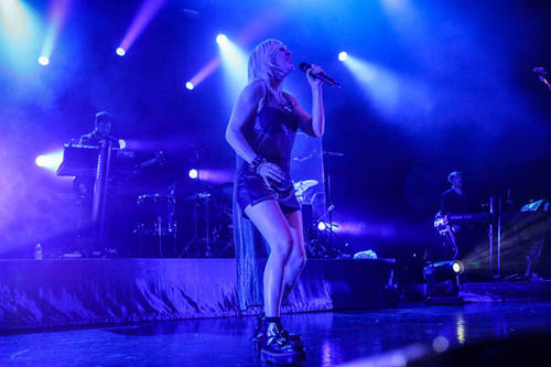 Ellie Goulding performs to a sold out crowd at The Hard Rock Live Cafe in Orlando, Fla. on Thursday, January 17, 2013.