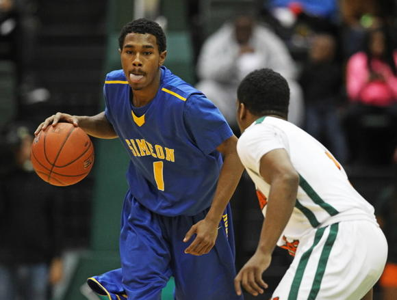 Simeon's Jaylon Tate told his mother he's ready to leave the violence of Chicago behind and get to college.