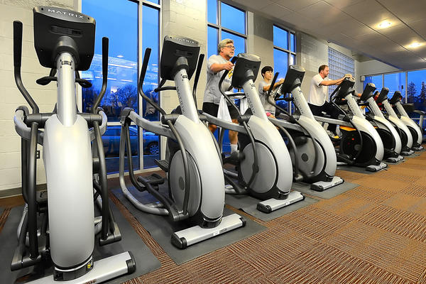 The Waynesboro (Pa.) YMCA recently added new equipment to its facility, including 10 treadmills, four ascent trainers, six elliptical trainers, three steppers, two upright bicycles, two recumbent bicycles and a climbing mill.