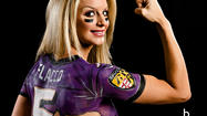 Ravens vs. Patriots body paint [Pictures]