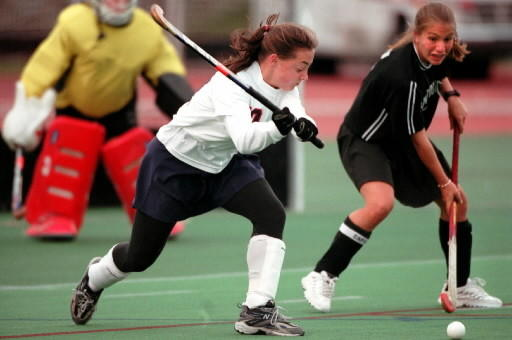 UConn wins their seventh Big East Championship. Here is Kelly Stolle during the 2000 Big East Championship game.