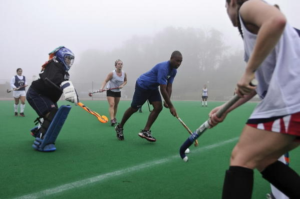 UConn Field Hockey wins their eleventh Big East Championship after defeating Syracuse. Here is the 2012 UConn team during a practice before the NCAA tournament.