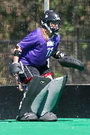 UConn Field Hockey captures their tenth Big East title. Here is UConns goalie Sarah Mansfield, from the 2012 team.