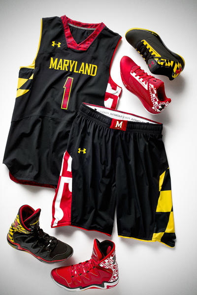 The Terps will wear black Maryland Pride uniforms at North Carolina.
