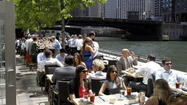 Outdoor patios downtown, in the Gold Coast and in River North could continue to stay open an hour later than spots in other neighborhoods during the week under a proposal put forth by an alderman.