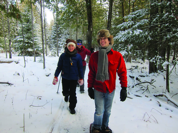 Snowshoeing or cross-country skiing is a free activity at Little Traverse Conservancy preserves across the region.