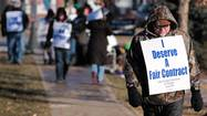 The Grayslake teachers strike has entered its third day after a five-hour negotiation session Thursday failed to produce a contract agreement.