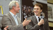 The Stanley Cup champion Kings took care of another bit of housekeeping -- an important one -- by finalizing the contract extensions of General Manager Dean Lombardi, Coach Darryl Sutter and executive Luc Robitaille on Friday morning.