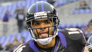 David Reed raised a few eyebrows when he wore Lee Evans' No. 83 jersey at practice Wednesday. Evans was blamed by many for being unable to hold onto a potential game-winning touchdown pass from quarterback Joe Flacco in the waning minutes of the Ravens' 23-20 loss to the New England Patriots in last year's AFC championship game.