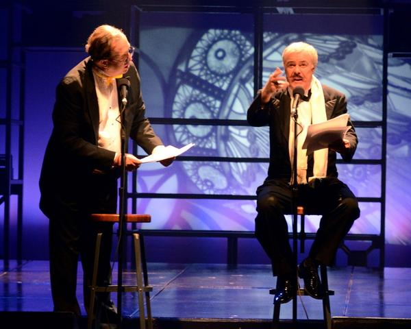 From left, Richard Fish and Phil Proctor