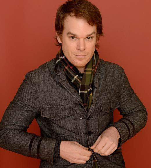 Actor Michael C. Hall poses for a portrait during the 2013 Sundance Film Festival at the Getty Images Portrait Studio at Village at the Lift.