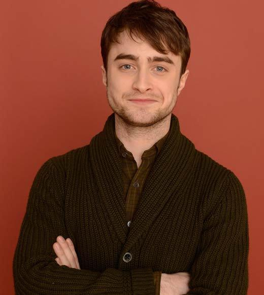 Sundance Film Festival 2013 celebrity sightings: Actor Daniel Radcliffe poses for a portrait during the 2013 Sundance Film Festival at the Getty Images Portrait Studio at Village at the Lift.