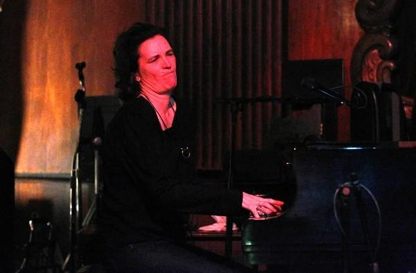 Jazz pianist-singer Patricia Barber performs at her regular Monday night gig at the Green Mill.